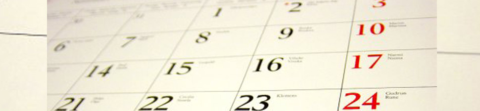 St. Cyprian's Calendar of Events
